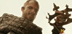 Floki with a crown in Season 3 of the History channels Vikings