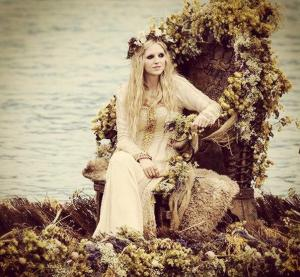 Maude Hirst stars Helga in History Channel's Vikings
