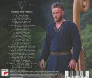 Vikings Soundtrack back cover