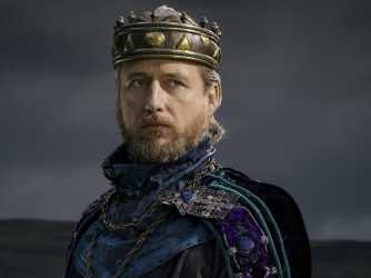 Linus Roache stars as King Ecbert in History Channel's Vikings