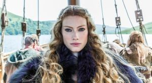 Alyssa Sutherland stars as Aslaug in History Channel's Vikings
