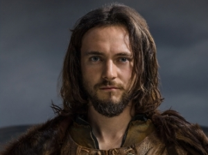 George Blagden stars as Athelstan in History Channel's Vikings