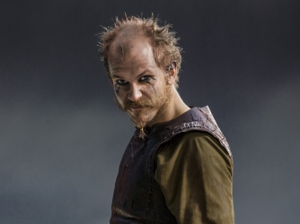 Gustaf Skarsgard stars as Floki in History Channel's Vikings