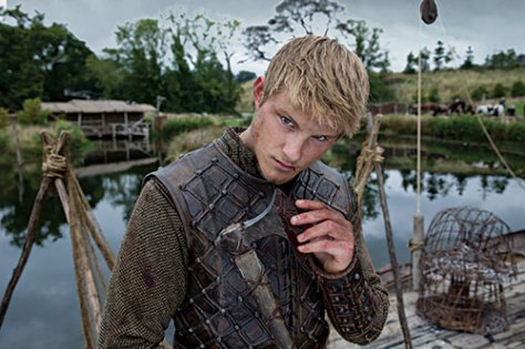 Alexander Ludwig stars as Bjorn in History Channels Vikings