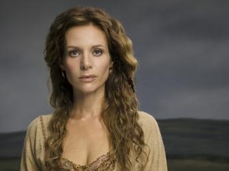 Jessalyn Gilsig stars as Siggy in History Channels Vikings