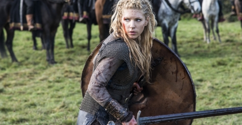 Katheryn Winnick stars as shield maiden Lagertha in History Channel's Vikings