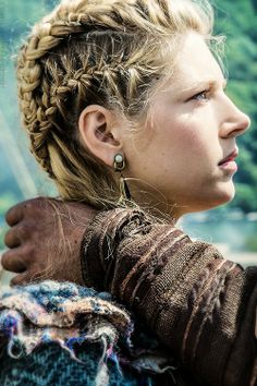 Lagerthas hair in History Channels Vikings