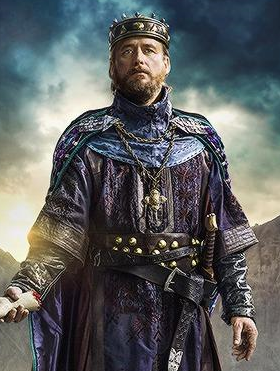 Linus Roache stars as King Ecbert in History Channels Vikings