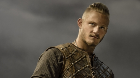 Alexander Ludwig stars as Bjorn Ironside in Season 3 of History Channel's Vikings