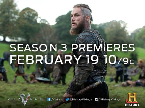 History channels vikings promo pic Season 3