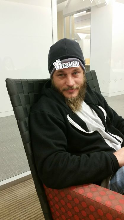 Travis Fimmel Q&A on Reddit