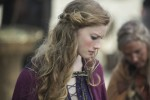 Alyssa Sutherland stars as Aslaug in Episode 3 (entitled Warrior's Fate) Season 3 of History Channel's Vikings