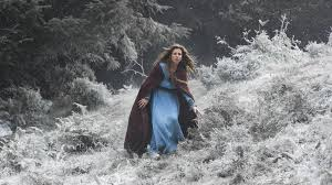 Siggy (Jessalyn Gilsig) searches for Ragnar's (Travis Fimmel) sons in Episode 4 (entitled Scarred) Season 3 of History Channel's Vikings