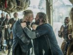 Rollo and Bjorn fight in Episode 5 (entitled The Usurper) Season 5 of History Channel's Vikings