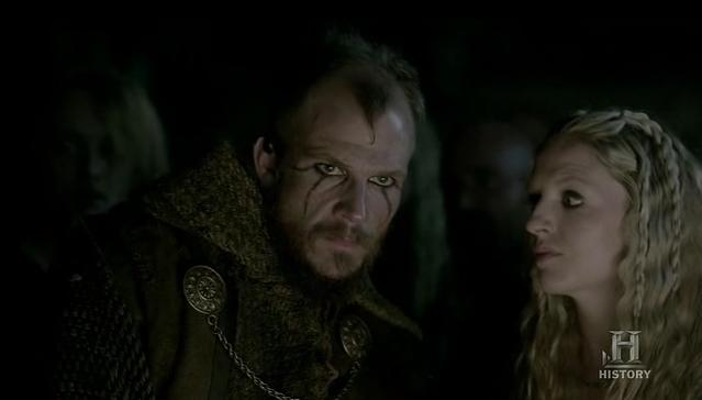 Floki (Gustaf Skarsgard) gets fanatical in Episode 5 (entitled The Usurper) Season 3 of History Channel's Vikings