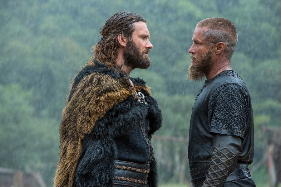 Rollo and Ragnar Lothbrok have words in Episode 5 (entitled The