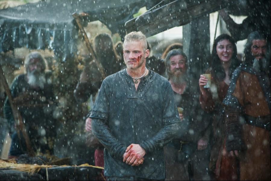 Bjorn stars in Episode 5 (entitled The Usurper) Season 5 of History