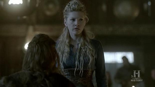 Lagertha (Katheryn Winnick) gets screwwed over in Episode 5 (entitled The usurper) Season 3 of History Channel's Vikings