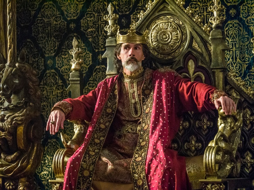 Emperor Charles of France played by Lothaire Bluteau stars in Episode 7 (entitled Paris) Season 3 of History Channel's Vikings