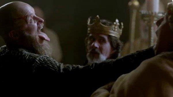 Episode 10 Season 3 of History Channel's Vikings Ragar Lothbrok inside Paris