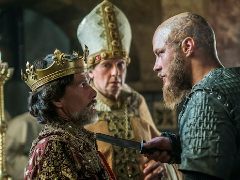 Episode 10 Season 3 of History Channel's Vikings Ragar takes Paris