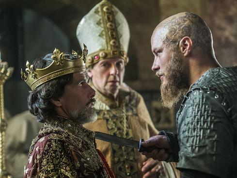 Episode 10 Season 3 of History Channel's Vikings Ragar takes Paris