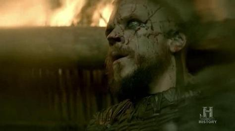 Moral of the story: don't let Floki (Gustaf Skarsgard) lead a raid. Episode 8 (entitled To The Gates!) Season 3 of History Channel's Vikings