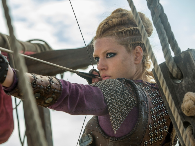 History Channel Vikings Season 4 Episode 9 Death All 'Round Lagertha looks fierce