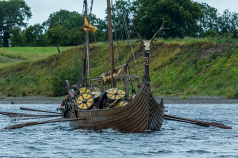 Vikings Season 4 Episode 7 King Harald Finehair's longships